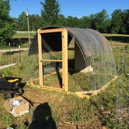 Completed hoop, door optional.