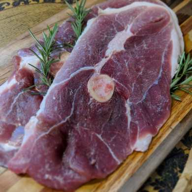 Kunekune pork- the other red meat. Old fashioned pork, with rich flavor, creamy & firm fat quality and taste beyond compare.